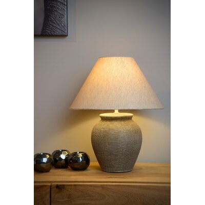 42 cm Tischleuchte Ramzi   Lampen > Tischleuchten > Beistelltischlampen   Lucide