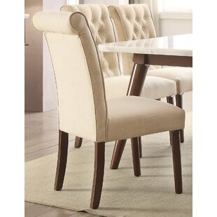 Hektor Upholstered Dining Chair (Set of 2) Brayden Studio