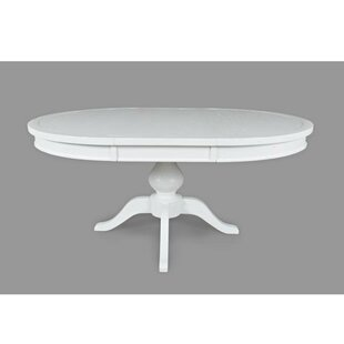 August Grove Abbate Wooden Dining Table
