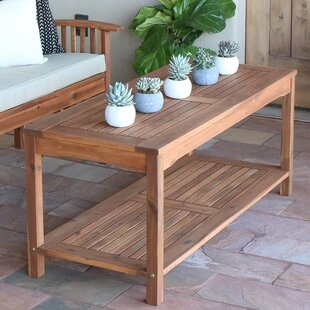 Searching for Backus Patio Coffee Table By Darby Home Co