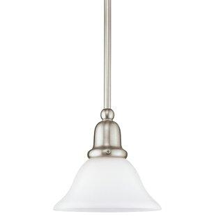 Three Posts Darmstadt 1-Light Cone Pendant