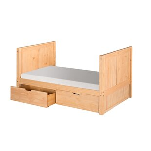 Oakwood Twin Panel Bed by Harriet Bee