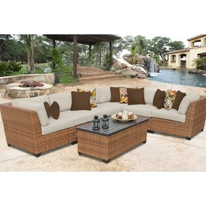 Laguna Deep Seating Group with Cushions (Set of 2)