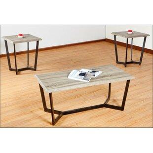 Latitude Run Reisman 3 Piece Coffee Table Set By Simmons Casegoods