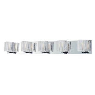 Orren Ellis Elsass 5-Light Vanity Light