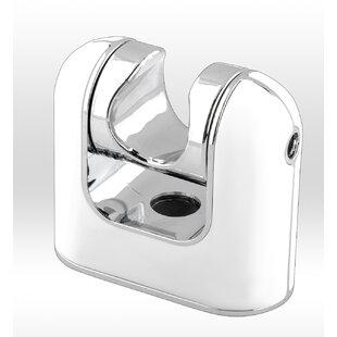 AKDY Wall Shower Mount Handheld Bracket Wall Mount Chrome White Universal Wand Holder