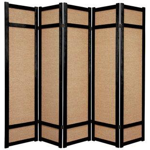 Clarke Shoji 5 Panel Room Divider