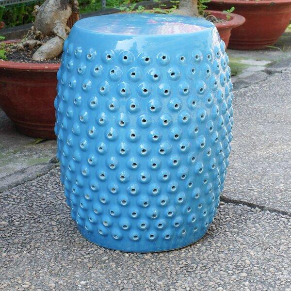 Phenomenal Navy Blue Ceramic Garden Stool Wayfair Pabps2019 Chair Design Images Pabps2019Com