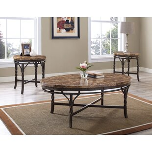 Vaughan 3 Piece Coffee Table Set
