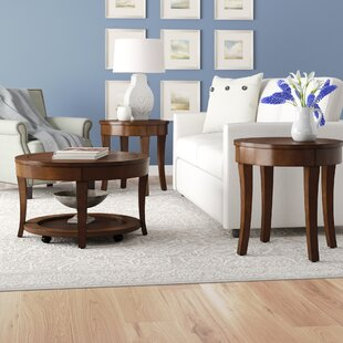 Darby Home Co Locke 3 Piece Coffee Table Set