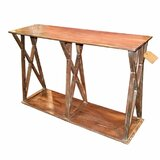 Worsley Robust Wooden Console Table by Millwood Pines