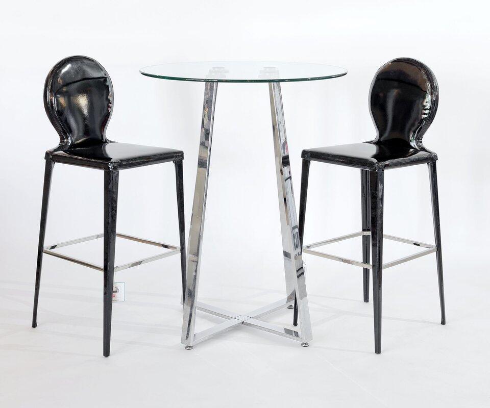 Metro Lane Essgruppe Sharleen mit 2 Stühlen