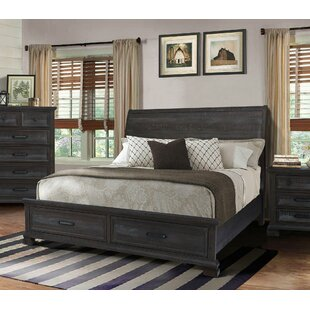 Gracie Oaks Upney Sleigh Bed