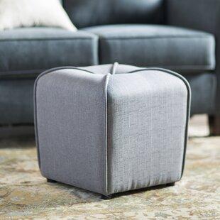 Bellatrix Cube Ottoman by Andover Mills