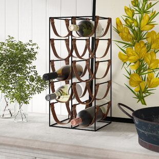Ophelie 10 Bottle Floor Wine Rack by Laur..