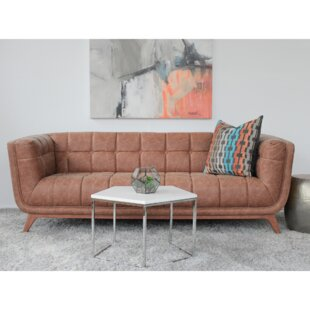 Caryn Vintage Leather Sofa