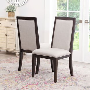 Mifley Upholstered Dining Chair (Set of 2) by Wrought Studio