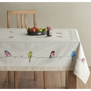 Birdies On Wire Tablecloth