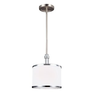 Latitude Run Gladys 1-Light Drum Pendant