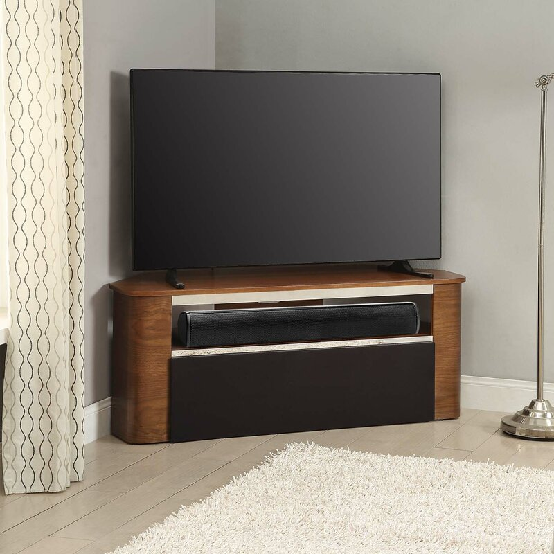 Curve TV Stand For TVs Up To 42