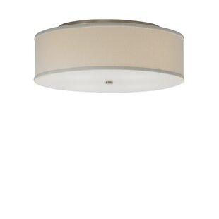 Jester Semi-Flush Mount by Red Barrel Studio