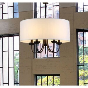 Sylvestre 5-Light Drum Chandelier