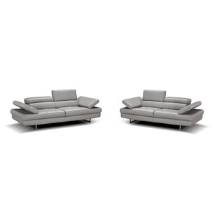 Looking for Maxwell Leather Configurable Living Room Set by Orren Ellis Reviews (2019) & Buyer's Guide