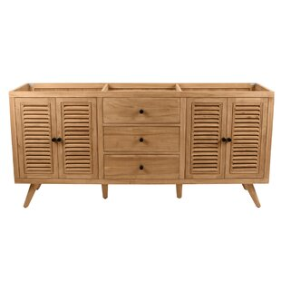 Toby 72 Double Bathroom Vanity Base by George Oliver