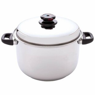 Steam Control 12 Quart Stock Pot with Lid