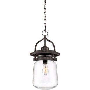 Look for Dickerson 1-Light Outdoor Hanging Lantern By Breakwater Bay