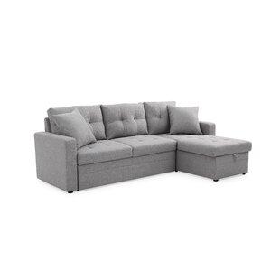 Clarke Sleeper Sectional by Ebern Designs