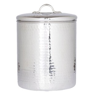 Hammered 4 Piece Kitchen Canister Set