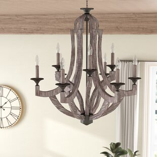 Gracie Oaks Biddlesden 9 Light Chandelier