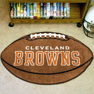 NFL - Cleveland Browns Football Mat By FANMATS