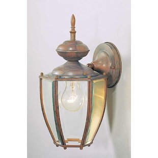 Look for 1-Light Outdoor Wall Lantern By Volume Lighting