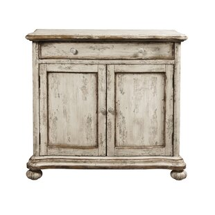 Grubbs Distressed 2 Door Accent Cabinet by August Grove