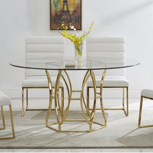 cc6471cddcbd Gold Kitchen   Dining Tables You ll Love