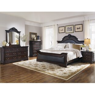 Shirleen Upholstered Panel Bed