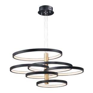 Laflamme 6-Light LED Chandelier by Everly Quinn