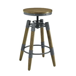 Scott Living Rustic Adjustable Bar Stool