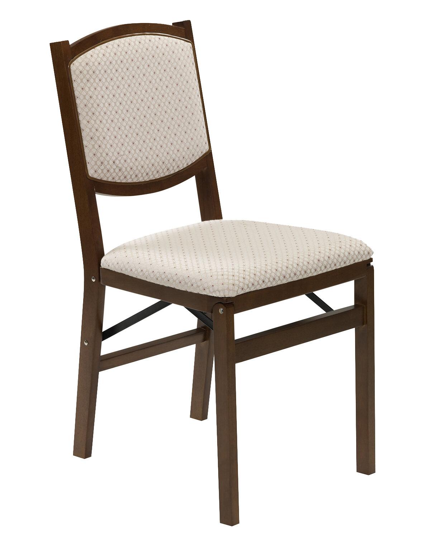 Stakmore Fabric Padded Folding Chair Reviews Wayfair