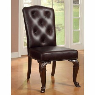 Barwood Upholstered Side Chair (Set of 2) Astoria Grand