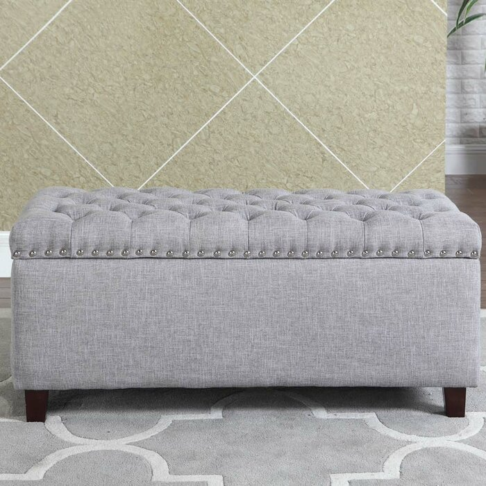 Miraculous Luper Tufted Storage Ottoman Andrewgaddart Wooden Chair Designs For Living Room Andrewgaddartcom