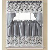 3 Piece Curtain Sets Kitchen   Wayfair