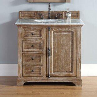 Ogallala 36 Single Driftwood Bathroom Vanity Set by Greyleigh