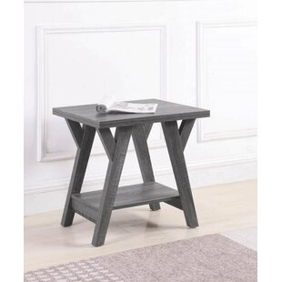Gaye End Table by Highland Dunes