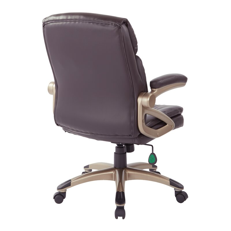 Kailyn High Back Bonded Leather Office Chair