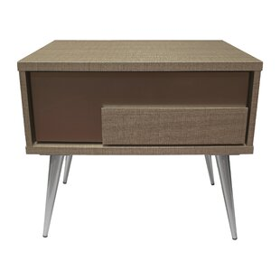 Brazil 1 Drawer Nightstand by BestMasterFurniture