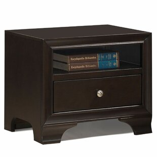 Nohlan 1 Drawer Nightstand by Charlton Home 2019 Sale