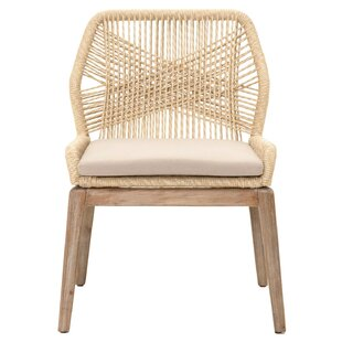 Arndt Weave Upholstered Dining Chair (Set..